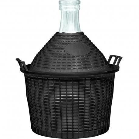 Demijohn in a plastic basket 5 L