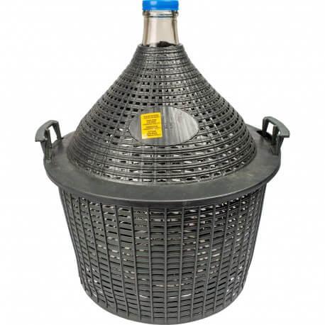 Demijohn in a plastic basket 25 L