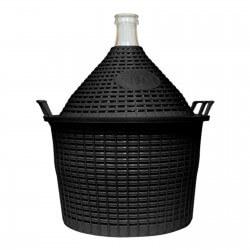 Demijohn in a plastic basket 34 L