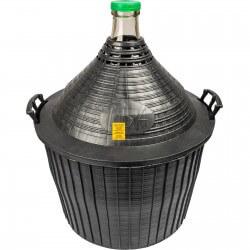 Demijohn in a plastic basket 54 L
