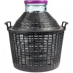 Demijohn in a plastic basket 10 L