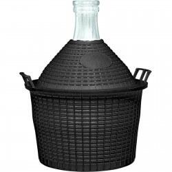 Demijohn in a plastic basket 20 L