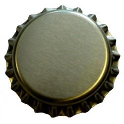Crown caps 26mm GOLD 100pcs