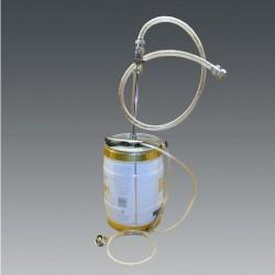 Anti-pressure filler for keg 5L