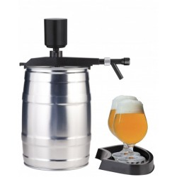 Tap with a hand pump for the 5L keg