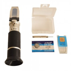 Led cover for refractometer