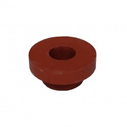 Red rubber for fermentation bucket
