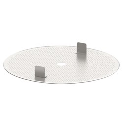 GF Top perforated plate with seal