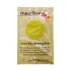 Mauribrew Lager Y497