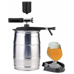 Tap with a hand pump and CO2 adapter for the 5L keg