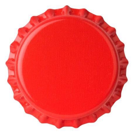 Crown caps 26mm RED 50pcs