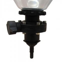 Fermentasaurus dump valve hose adaptor