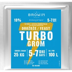 Distillery yeast TURBO Grom 5-7 dni 100L
