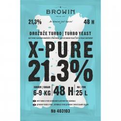 Drożdże gorzelnicze TURBO X-Pure 21,3% 48h