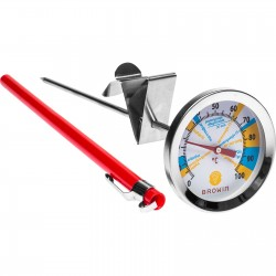 Termometr serowarski tarcza, 0-100°C