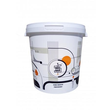 Biały fermentor 15L z pokrywą