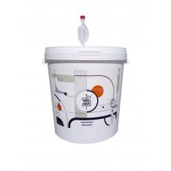 Biały fermentor 33L z rurką fermentacyjną