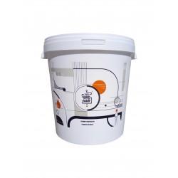Biały fermentor 33L z pokrywą