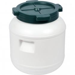 10 l Barrel / Drum, white colour