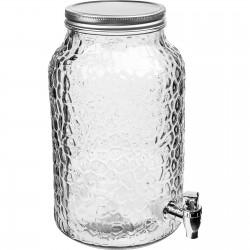 Lemonade glass jar / beverage dispenser 5,7L