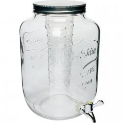 Słój Cytrynada 7,6L z kranem i filtrem