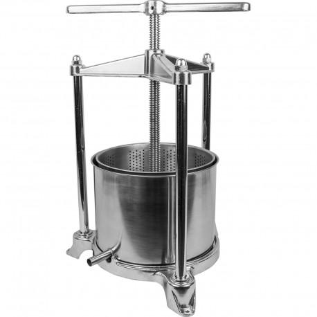 Fruit frame press 5L - stainless steel