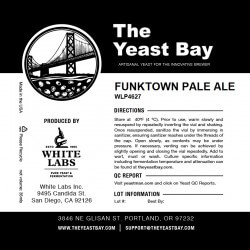 The Yeast Bay WLP4627 Funktown Pale Ale