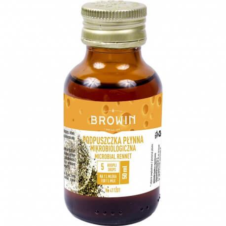 Liquid microbial rennet 50ml