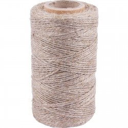 Matte linen twine for meat tying 100g