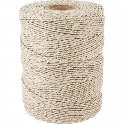 Matte linen twine for meat tying 250g