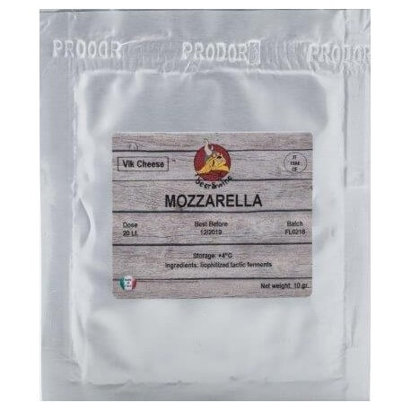Kultury bakteryjne do sera Mozzarella