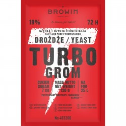 Distillery yeast TURBO Grom 72h