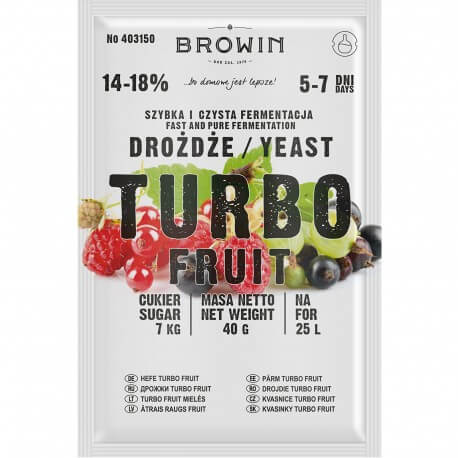 Distillery yeast TURBO Fruit