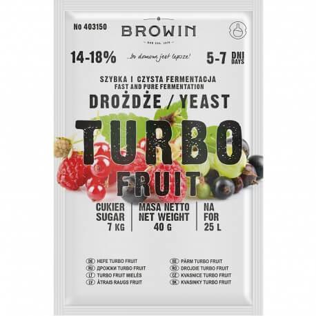 Drożdże gorzelnicze TURBO Fruit