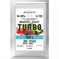 Distillery yeast TURBO Fruit 100L
