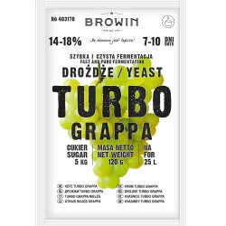 Distillery yeast TURBO Grappa