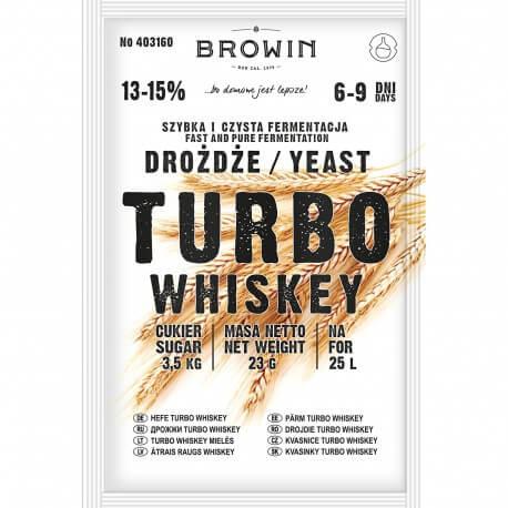 Distillery yeast TURBO Whiskey
