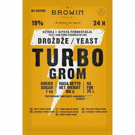 Distillery yeast TURBO Grom 24h
