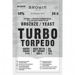 Drożdże gorzelnicze TURBO Torpedo 24h