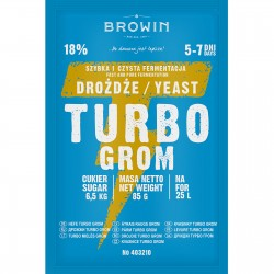 Distillery yeast TURBO Grom 5-7 dni