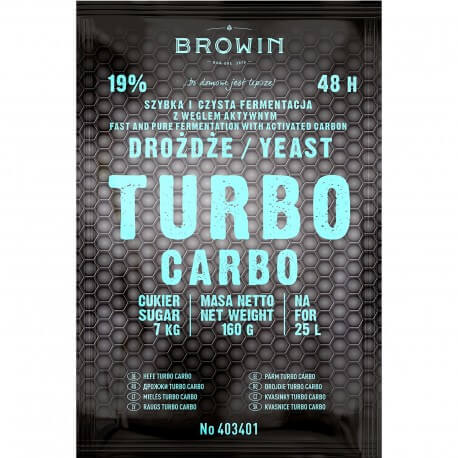 Distillery yeast TURBO Carbo