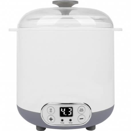 Yoghurtmaker with thermostat 1,5L