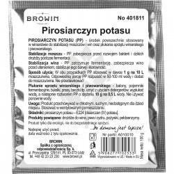 Potassium metabisulfite 100g