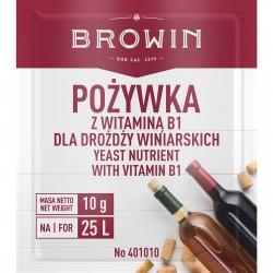 Wine yeast nutrient with Vit. B1 10g