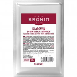 Klarowin fining agent for white and rose wines 100g